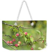 Crab Apple Fruit Weekender Tote Bag