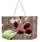 Crab-apple Tree Flower Buds Weekender Tote Bag