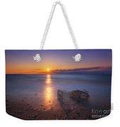 Crab Trap Sunset Le Weekender Tote Bag