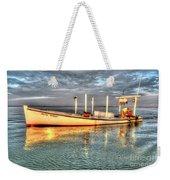 Crabbing Boat Beth Amy - Smith Island, Maryland Weekender Tote Bag