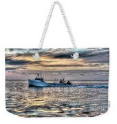 Crabbing Boat Miss Maxine - Smith Island Maryland Weekender Tote Bag