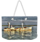Crabbing Boat Scotty Boy - Smith Island, Maryland Weekender Tote Bag