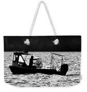 Crabbing On The Pamlico Weekender Tote Bag