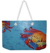 Crabs Weekender Tote Bag
