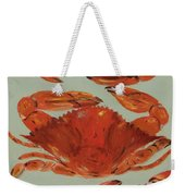 Crabs Tonight Weekender Tote Bag