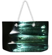 Cracked Glass Weekender Tote Bag