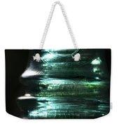 Cracked Glass Weekender Tote Bag