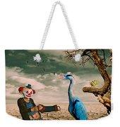 Cracked IIi - The Clown Weekender Tote Bag by Chris Armytage