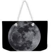 Cracked Moon Weekender Tote Bag