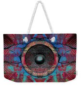 Cracked Music Speaker 3 Weekender Tote Bag