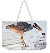 Cracking The Shell Weekender Tote Bag