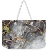 Crackling Ice I Weekender Tote Bag