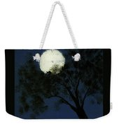 Cradling The Moon Weekender Tote Bag