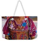 Craft Vendor In Panama City, Panama Weekender Tote Bag