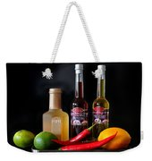 Cranberry And Fruit Weekender Tote Bag