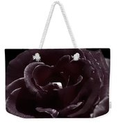 Cranberry Rose Weekender Tote Bag