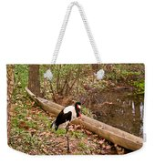 Crane And Canoe Weekender Tote Bag