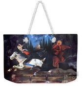 Crane And Horseman Weekender Tote Bag