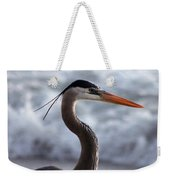 Crane By The Sea Weekender Tote Bag