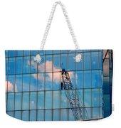 Crane Reflection - Atlantic City Weekender Tote Bag