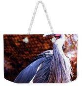 Crane Stare Down Weekender Tote Bag