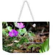 Cranesbill Weekender Tote Bag