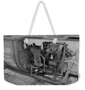 Crank Wood Bw Weekender Tote Bag