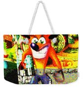 Crash Bandicoot Weekender Tote Bag