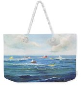 Crashboat Beach Weekender Tote Bag