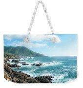 Crashing Coast Weekender Tote Bag
