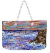 Crashing Of The Waves Weekender Tote Bag
