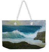 Crashing Wave 3 Weekender Tote Bag