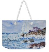 Crashing Wave IIi Weekender Tote Bag