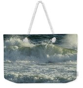Crashing Wave Weekender Tote Bag by Sandy Keeton