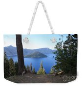 Crater Lake 11 Weekender Tote Bag