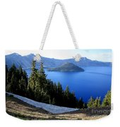 Crater Lake 12 Weekender Tote Bag