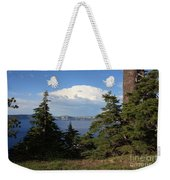 Crater Lake 8 Weekender Tote Bag