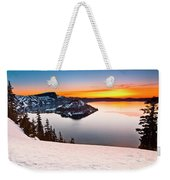 Crater Lake Dawn Weekender Tote Bag