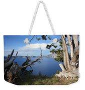 Crater Lake Perspective Weekender Tote Bag