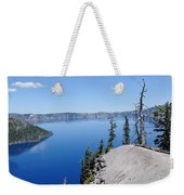 Crater Lake Scenic Panorama Weekender Tote Bag