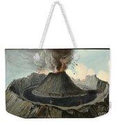 Crater Of Mount Vesuvius, Before 1767 Weekender Tote Bag