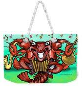 Crawfish Band Weekender Tote Bag