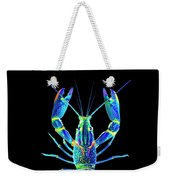 Crawfish In The Dark - Blublue Weekender Tote Bag