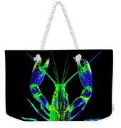 Crawfish In The Dark - Bluegreen Weekender Tote Bag