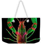 Crawfish In The Dark - Greenred Weekender Tote Bag