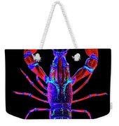 Crawfish In The Dark-  Redblue Weekender Tote Bag