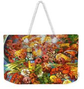 Crawfish Time Weekender Tote Bag