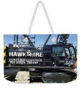 Crawler Crane Hire In London And Kent Weekender Tote Bag