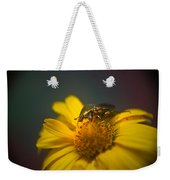 Crawling June Beetle Weekender Tote Bag