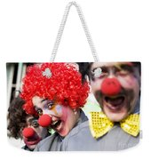 Crazy Circus Clowns Weekender Tote Bag